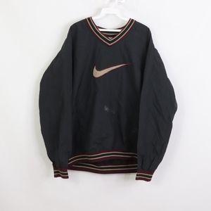 90s Nike Mens 2XL Swoosh Logo Windbreaker Jacket